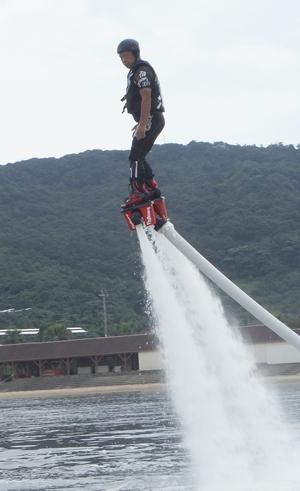 長崎フライボードチームA
